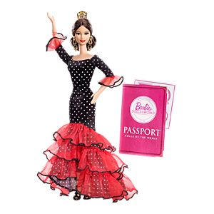 <em>Spain</em> Barbie&#174; Doll