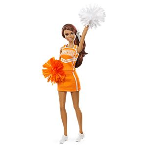 <em>University of Tennessee</em> Barbie&#174; Doll&#8212;African American