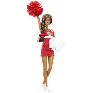 <em>University of Oklahoma</em> Barbie&#174; Doll&#8212;African American
