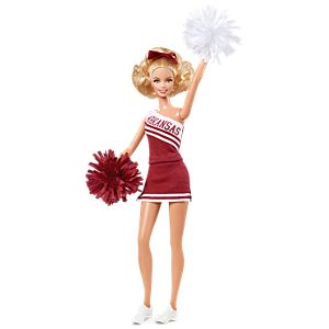<em>University Of Arkansas</em> Barbie&#174; Doll