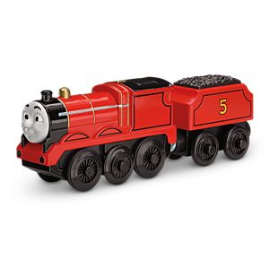 Thomas & Friends™ Wooden Railway Battery-Operated James
