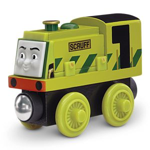 Thomas & Friends™ Wooden Railway Scruff Engine