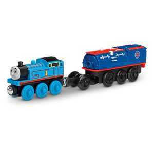 Thomas & Friends™ Wooden Railway Battery-Operated Thomas with Booster Steam Car