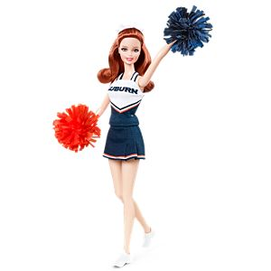 <em>Auburn University</em> Barbie&#174; Doll