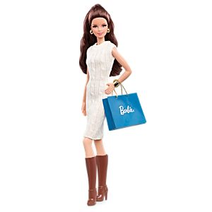 City Shopper™ Barbie® Doll—Brunette
