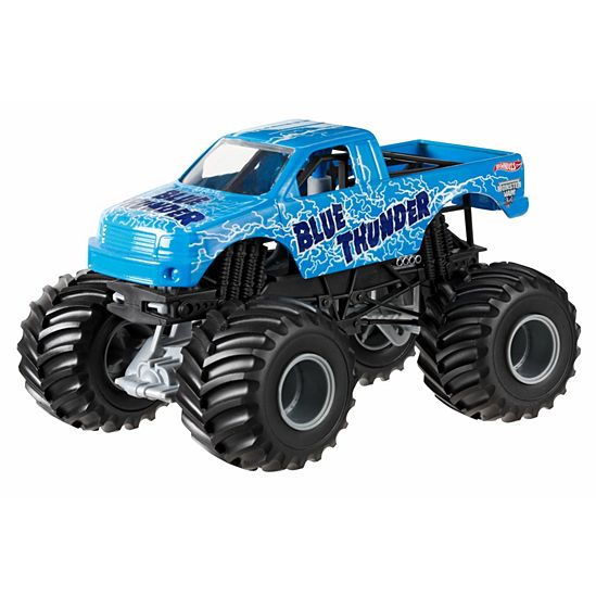 Hot Wheels Monster Jam Blue Thunder Vehicle Hot Wheels