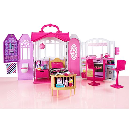 Image for BRB GLAM GETAWAY HOUSE from Mattel. Barbie  Glam Getaway  House   CHF54   Barbie