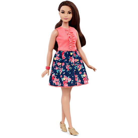 Barbie Fashionistas Doll 26 Spring Into Style Curvy Dmf28