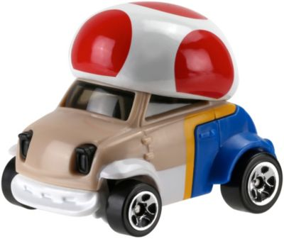 Hot Wheels Mario Bros. Toad Car