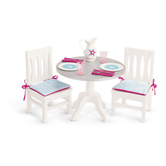 American Girl Doll Table Chairs