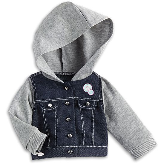 Hooded Denim Jacket for Dolls | Truly Me | American Girl