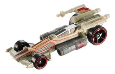 Hot Wheels Star Wars Classic Lukes XWing Carship Vehicle