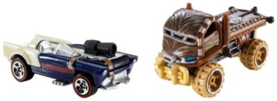 Hot Wheels Star Wars 2 Car Pack  Chewbacca and Han Solo
