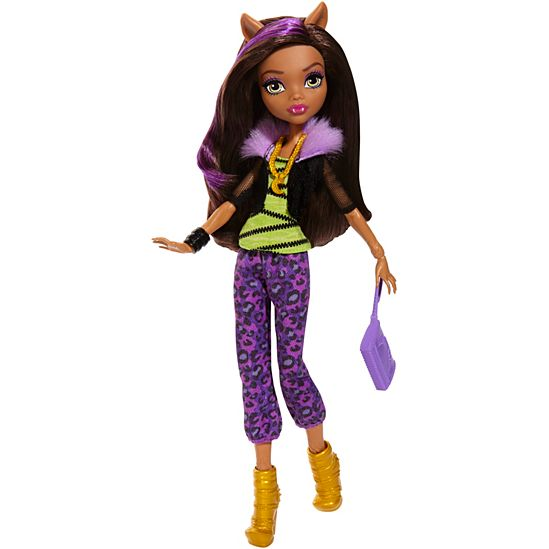 Monster High Clawdeen Wolf Doll In Signature Look  DVH23  Mattel