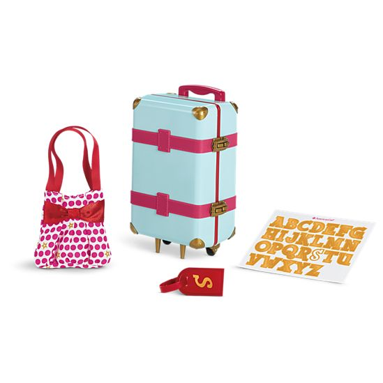 Travel in Style Luggage | American Girl