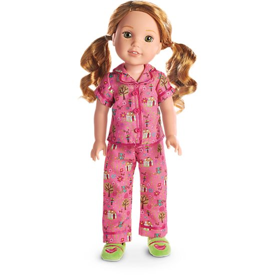 pajamas for girls and dolls american girl