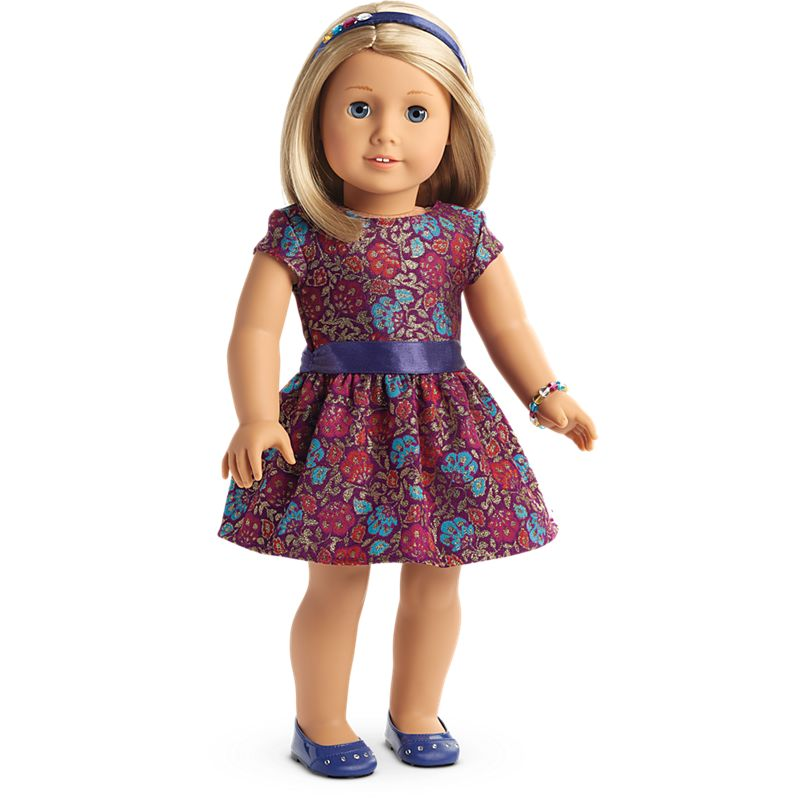 Fancy Holiday Dress for 18-inch Dolls | American Girl