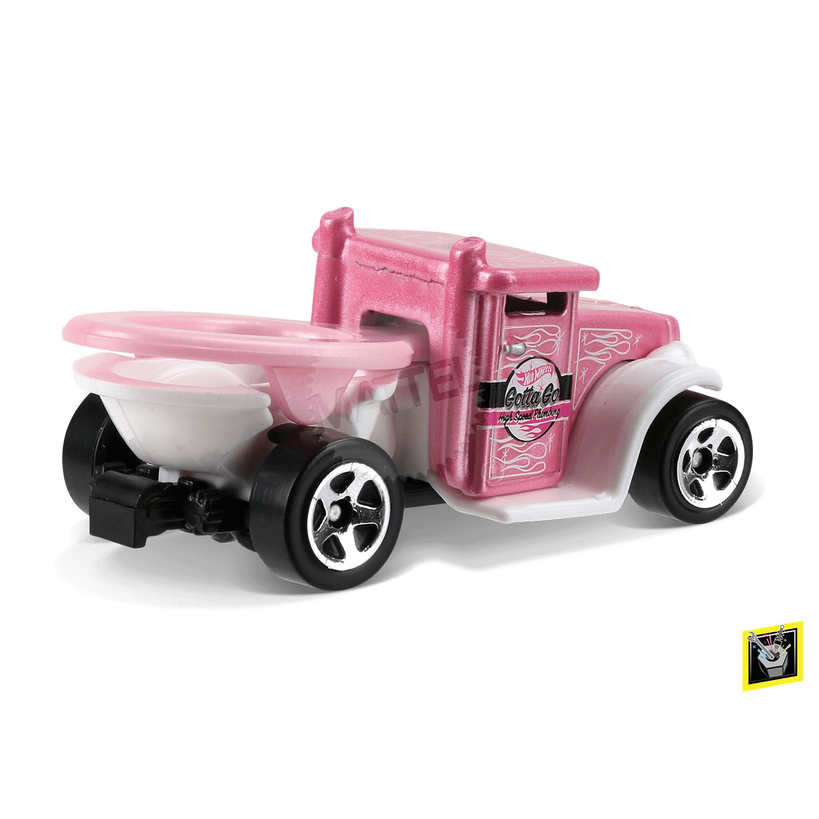 new from hot wheels a toilet car stormfront. Black Bedroom Furniture Sets. Home Design Ideas