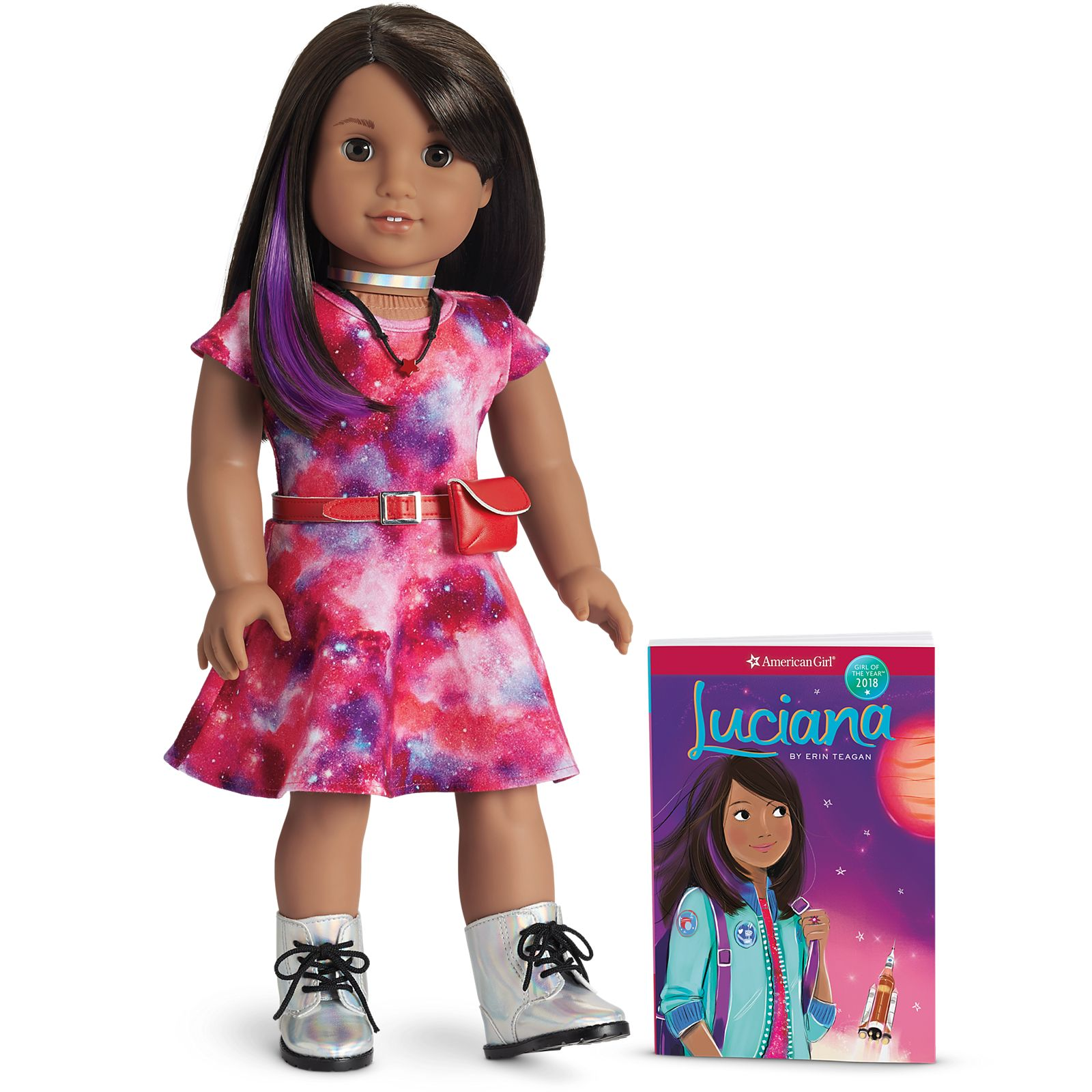 American Girl Luciana Doll & Book