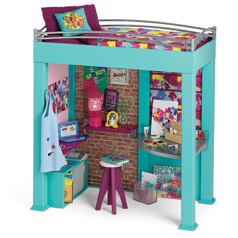 Loft Bed Images gabriela's loft bed | american girl