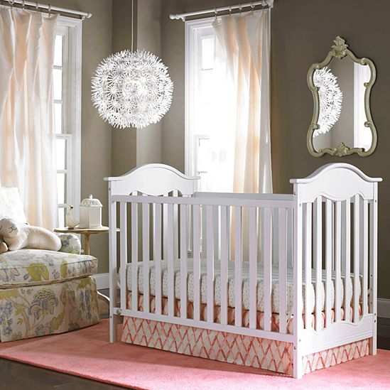 Charlotte Traditional Crib. Nursery Furniture  Cribs  Changing Stations   Dressers   Fisher Price