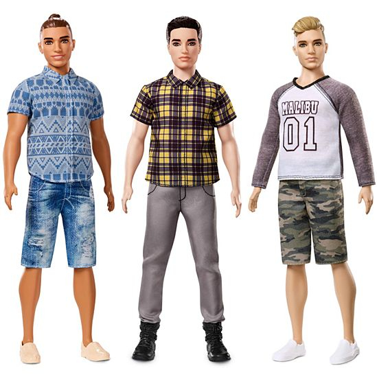 Image For Ken Fashionistas Broad From Mattel