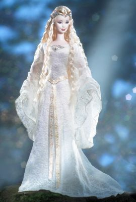 Barbie Doll as Galadriel in The Lord of the Rings The Fellowship