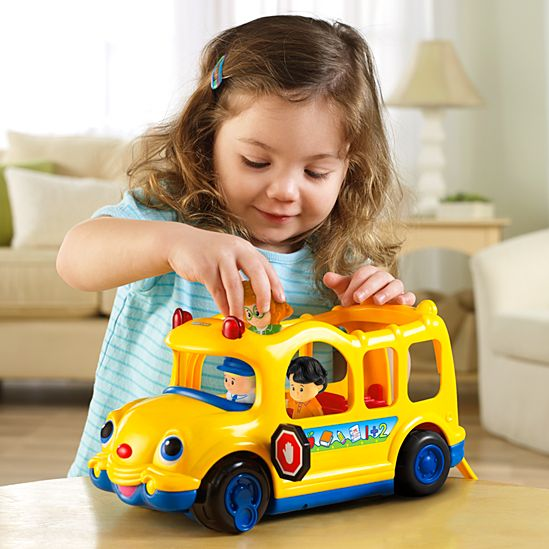 Little People Lil\' Movers School Bus   J0000   Fisher-Price