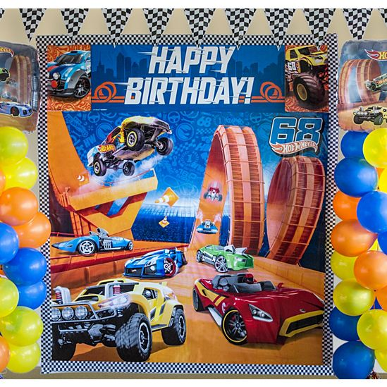 Hot Wheels Party Supplies Invitations Decorations – Hot Wheels Birthday Invitations