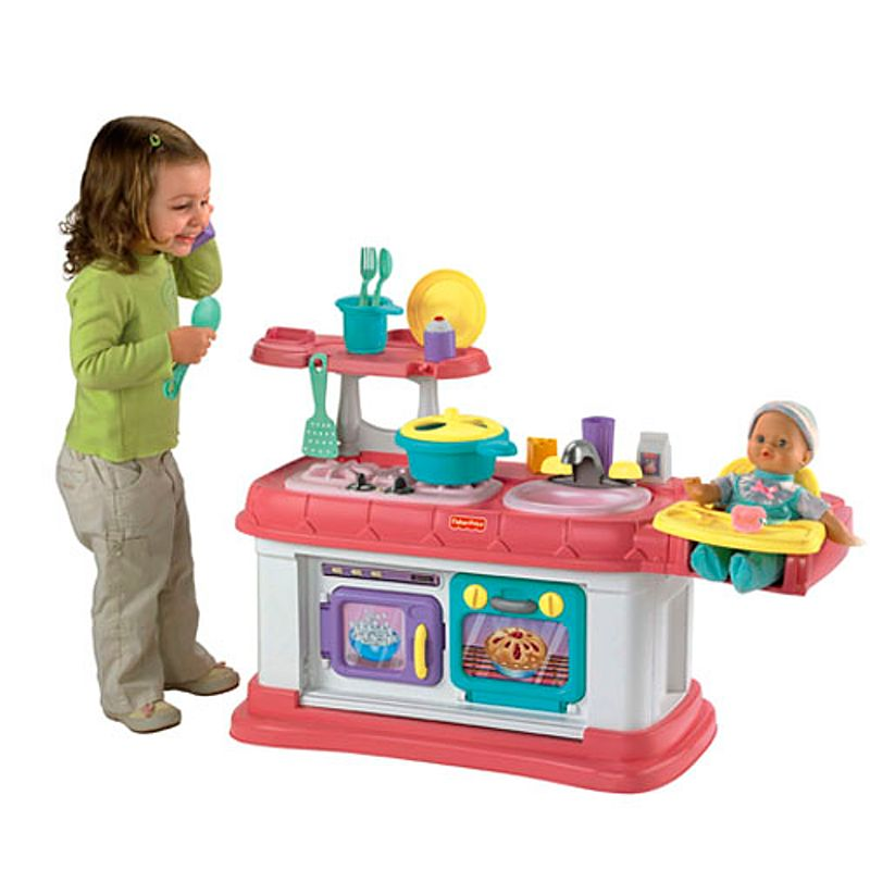 Grow-With-Me Kitchen™ Cook & Care! | Mattel