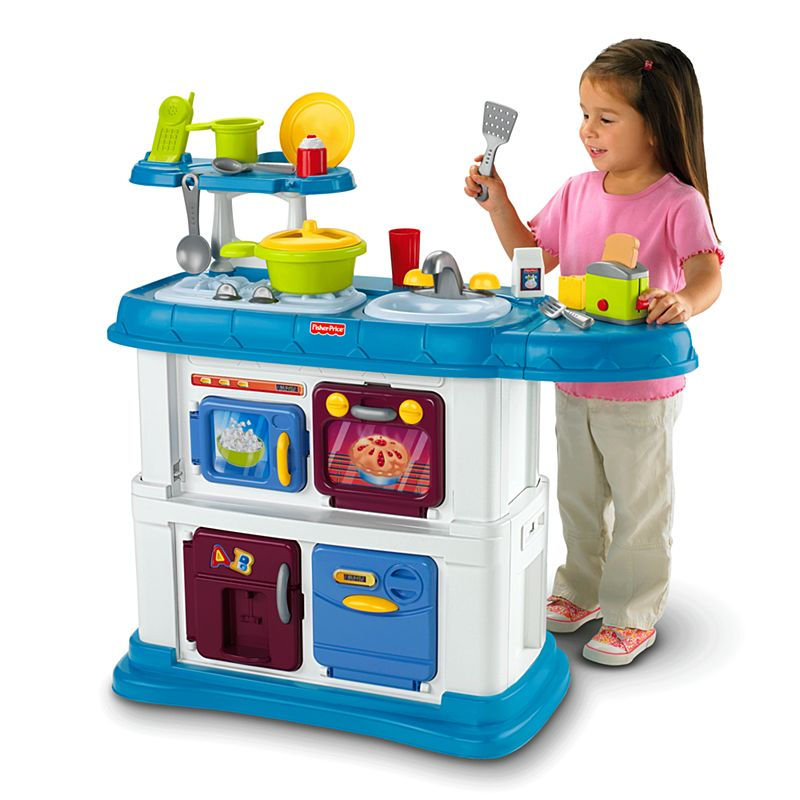 Fisher-Price Grow-With-Me Kitchen | T4030 | Fisher-Price