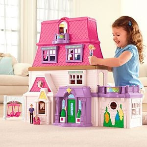 Loving family toys figures accessories fisher price for Best kitchen set for 4 year old