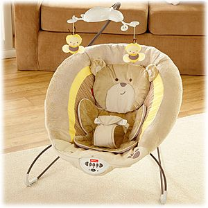 fisher price calming vibrations bouncer instructions