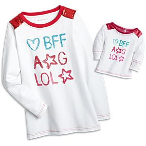 BFF Graphic Tee for Girls & 18-inch Dolls