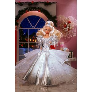 1992 Happy Holidays® Barbie® Doll
