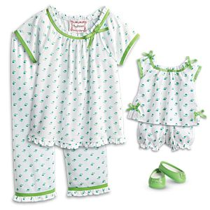 Maryellen's Pajamas for Girls & 18-inch Dolls