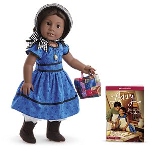 Addy™ Doll, Book & Accessories