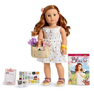 Blaire Doll, Book & Accessories