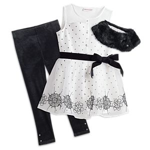 Let it Snow Outfit for Girls