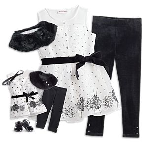 Let it Snow Outfit for Girls & 18-inch Dolls