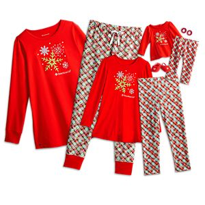 Holiday Dreams Pajamas for Women, Girls & 18-inch Dolls