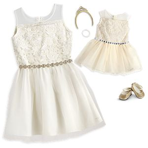 Celebration Dress for Girls & 18-inch Dolls
