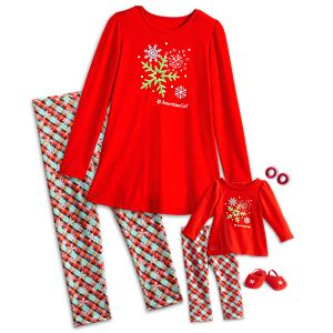 Holiday Dreams Pajamas for Girls & 18-inch Dolls