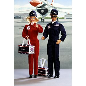Air Force Barbie® and Ken® Deluxe Set