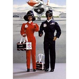 Air Force Barbie® and Ken® Deluxe Set (African-American)