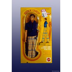 Walk Lively Ken® Doll—Original Outfit #1184