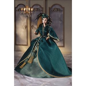 Barbie® Doll as Scarlett O'Hara (Green Drapery Dress)