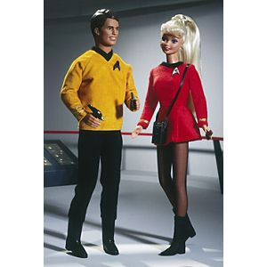 Barbie® and Ken® 30th Anniversary Star Trek Giftset