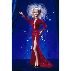 Barbie® Doll as Marilyn™ in the Red Dress from Gentlemen Prefer Blondes™