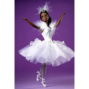 Barbie® Doll as the Swan Queen in Swan Lake (African-American)